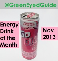 Nov 2013 Energy Drink of the Month