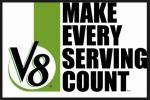 V8 servings count