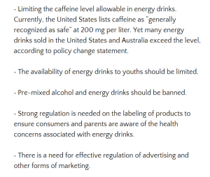 """From """"D.G.A.C. puts energy drinks back in the spotlight"""" by Keith Nunes"""