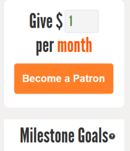 Patreon Patron GreenEyedGuide