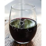 Wine Molecule Wine Glass [Cognitive Surplus on Amazon]