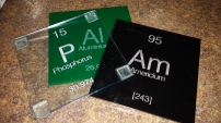 Periodic Table Coasters [ B Plus Shop]