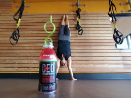 greeneyedguide handstand CEO clean energy on-demand energy drink