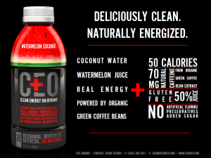 clean energy on demand CEO greeneyedguide energydrink