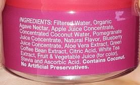 Main Squeeze Ingredients - GreenEyedGuide.com