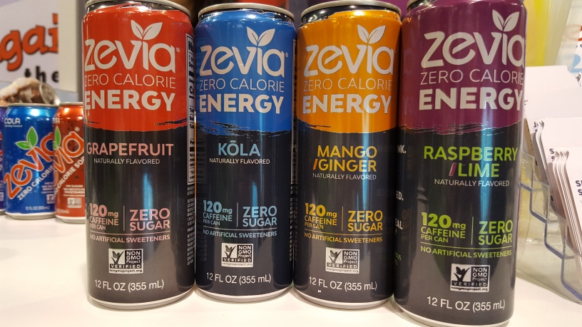 Energy drink of the month may 2017 zevia zero calorie for Cocktail 0 calorie