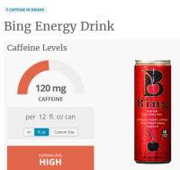 OCT 2016 Energy Drink of the Month
