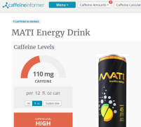 MAR 2017 Energy Drink of the Month
