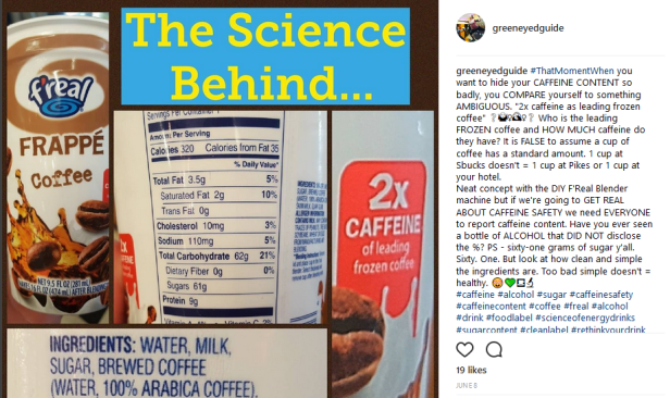 Science Behind FReal Frappe Coffee