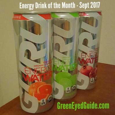 Energy Drink of the Month - Sept 2017: Guru Energy Water